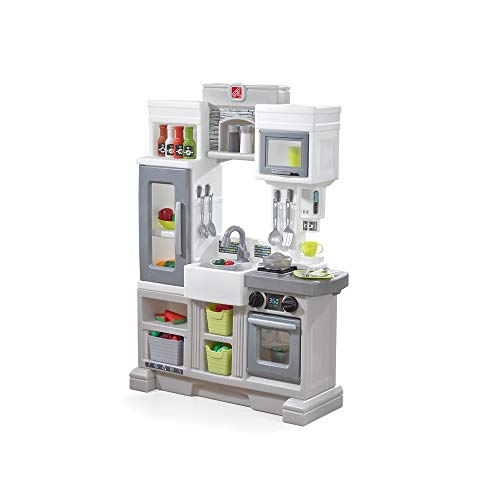 Step2 Downtown Delights Kitchen Kids Playset, Gray ()