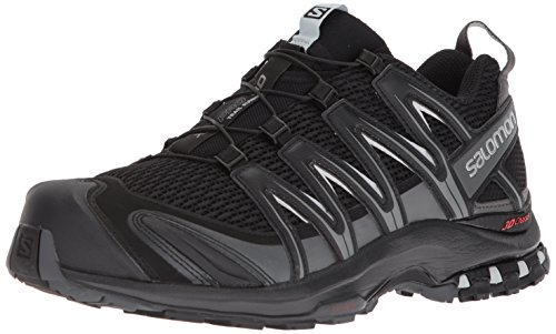 Salomon Men's XA Pro 3D Trail Running Shoe, Black, 10 Wide US Salomon Kids Xa Pro Shoe