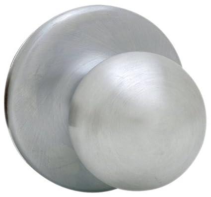 Kwikset Polo Hall/Closet Knob in Satin Chrome - Doorknobs - Amazon.com