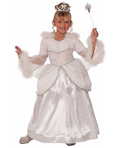 [Forum Novelties Designer Collection Deluxe Snow Queen Costume Dress, Child Large] (Princess Bride Halloween Costumes)