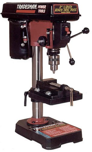 Tradesman 8050S 8-Inch Bench Drill Press by Tradesman