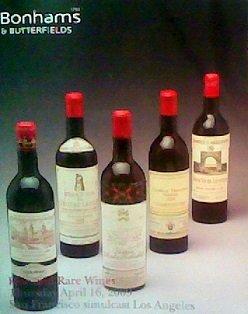 Fine and Rare Wines (April 16, 2009) -