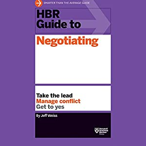 HBR Guide to Negotiating Hörbuch