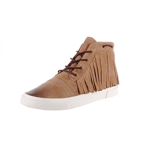 Fb Fashion Boots Stivali Durango Frangia Lacer Sneaker Drd0189 Cammello / Scarpe Stringate Da Donna Marrone / Scarpe Con Frange Cammello