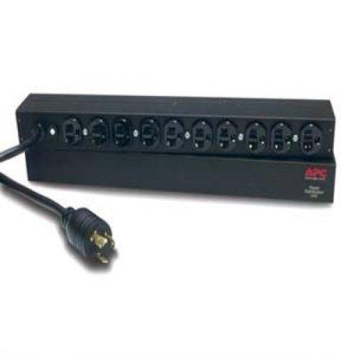 - APC Basic Rack-Mount PDU power distribution strip - 2.4 kW (AP9564) -