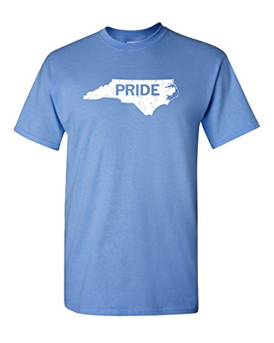 (North Carolina State Pride Home NC Chapel Hill Charlotte Raleigh Greensboro Beach Tee Graphic Adult Mens T-Shirt)
