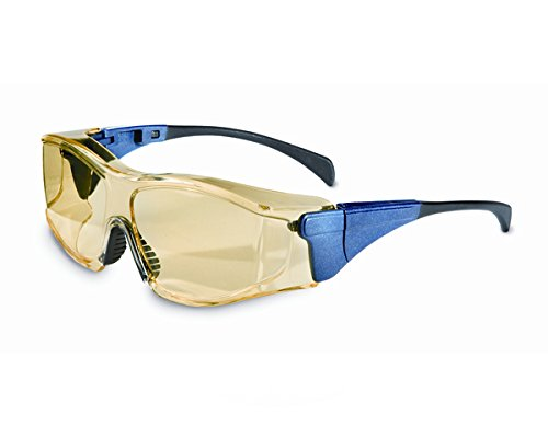 Honeywell 1027610 Overspec Blue, Amber Fog Ban Large Safety Goggles Honeywell Safety