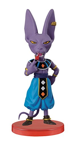 Banpresto Dragon Ball Z 2.8-Inch God of Destruction Beerus World Collectable Figure, Z Warriors