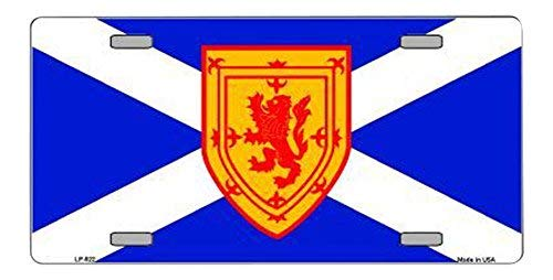Scotland Flag / St Andrews Flag Aluminum Automotive Novelty License Plate Tag Sign