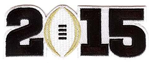 NCAA 2015 Champ Patch, White, Small