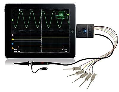Oscium iMSO-104, 5 MHz, 1 Analog 4 Digital Mixed Signal Oscilloscope for iPhone iPad