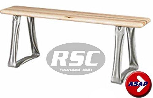 Free Standing Locker Room Laminated Hardwood Bench - 36