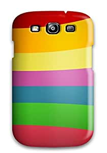 Faddish Phone Nice Rainbow Wall Case For Galaxy S3 / Perfect Case Cover by Maris's Diary