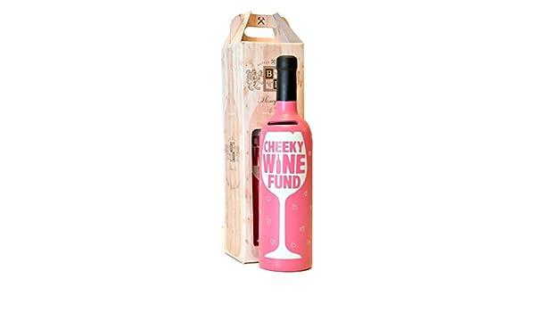 Regalo para ella - Hucha de vino Cheeky - botella de Dreams Hucha: Amazon.es: Juguetes y juegos