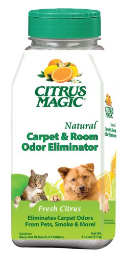 Citrus Magic Carpet & Room Freshener 0.7 Pound Shaker (Room Magic Natural)
