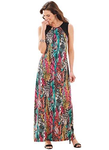 AmeriMark Dress Maxi Sleeveless AmeriMark Sleeveless Multi v8rqwBvxI