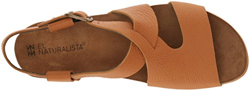 clearance store online clearance store for sale El Naturalista Women's Nf46 Soft Grain Carrot/Zumaia Flat Sandal Carrot clearance latest collections juNqQbp6