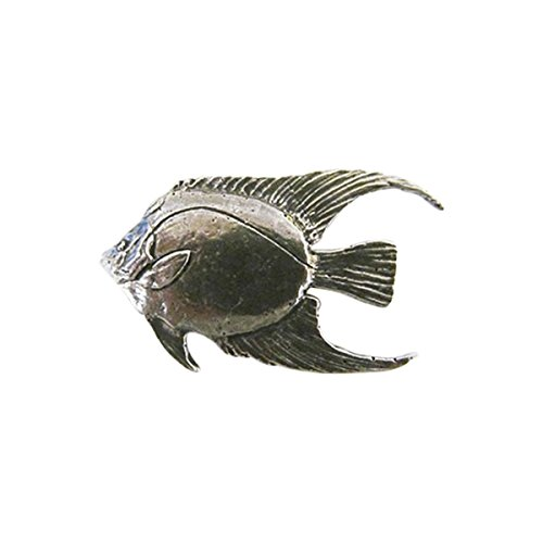 - Angel Fish Adult ~ Lapel Pin/Brooch ~ CWG-S081 ~ Pewter