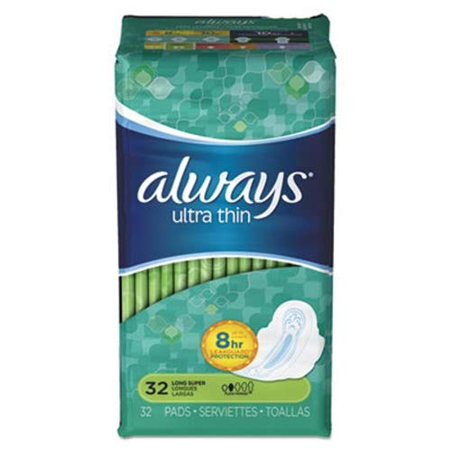 Always 95251 Ultra Thin Pad with Wing, Super Long (Pack of 192)