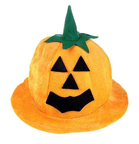 2 Pieces Halloween&Christmas Pumpkin Hat, 3135cm/Laughing Pumpikn by Panda Superstore (Image #2)