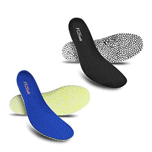 Black Lamb Footwear - Technology E-TPU Popcorn Insoles high Elasticity Light Weight Shoes pad Boost Black Ws 6.5