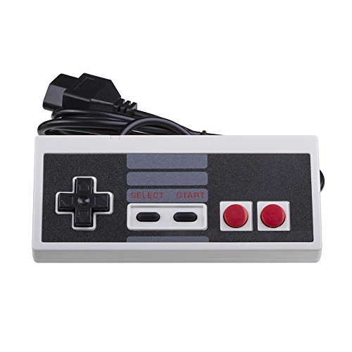 Dealstock 2 Classic Gaming Controller Control Pad for Nintendo NES 8 Bit System Console