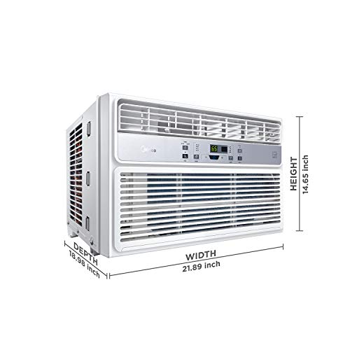 MIDEA EasyCool Window Air Conditioner - Cooling, Dehumidifier, Fan with remote control - 12,000 BTU, Rooms up to 550 Sq… 4