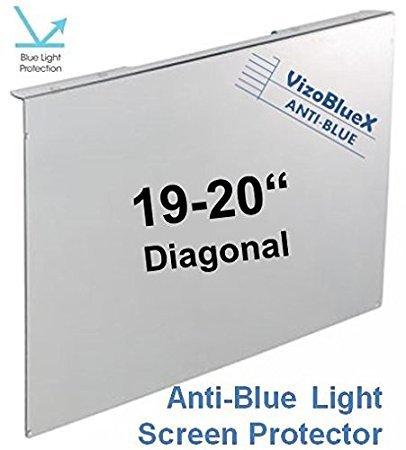 19-20 Pulgadas VizoBlueX Anti Luz Azul Filtro para Monitor de computadora. Panel de
