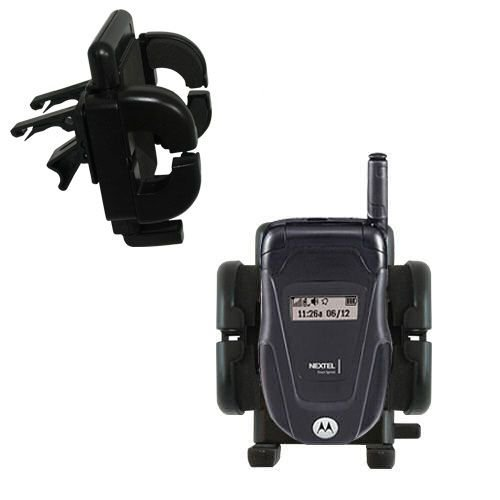 le Vehicle Mount designed for the Motorola ic502 - Adjustable Vent Clip Holder for Most Car / Auto Vent Systems ()