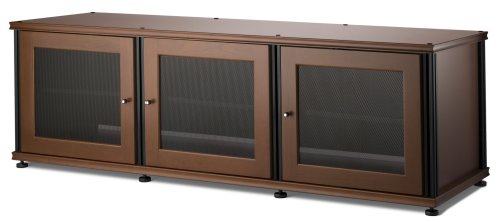 Salamander Synergy 237 A V Cabinet with Three Doors -Cherry Black
