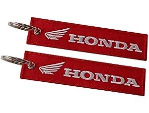 Moto Discovery Llavero Doble Cara para Modelos Honda (1 ...