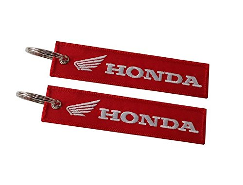 Amazon.com: Honda double sided key ring Red (1 pc.): Shoes