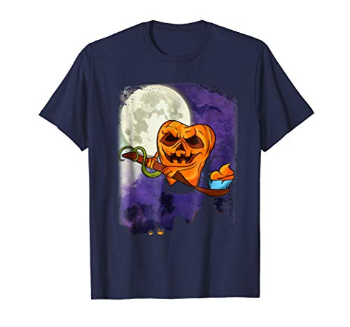 Halloween Dentist T-Shirt Scary Tooth Pumpkin Unique