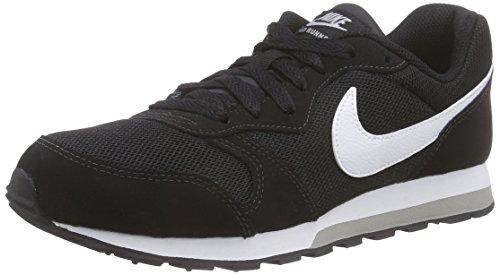 Nike 001 gs Runner Md Running Negro De Zapatillas Niños 807316 Para Multicolor 2 Twf6AqTH