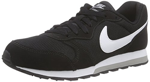 De Runner Nike Running black Para 2 white 001 Zapatillas wolf gs Md Negro Grey Niños agXxX51q