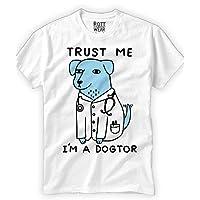 Trust Me I´m A Dogtor, Doctor Funny Playera Rott Wear