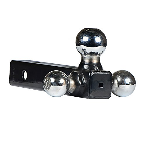 HiTow Multiple-Ball 3IN1 Tri-Ball Mount(1-7/8