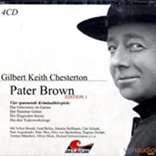 Vier Kriminalgeschichten - Pater Brown (Edition 1) Hörspiel von Gilbert Keith Chesterton Gesprochen von: Volker Brandt, Gerd Baltus, Daniela Hoffmann