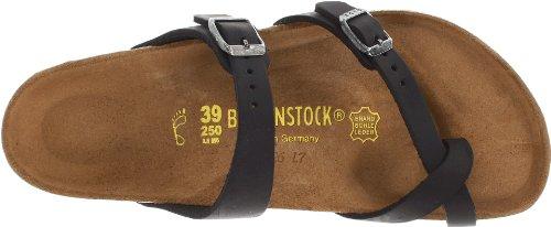 Birkenstock Women's Mayari Leather Thong Sandal,Black,EU Size 37 / Women's US Size 6-6.5 by Birkenstock (Image #7)