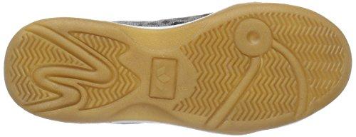 Lico Speed Indoor - Zapatillas deportivas para interior de material sintético niños gris - Grau (grau/schwarz/lemon)