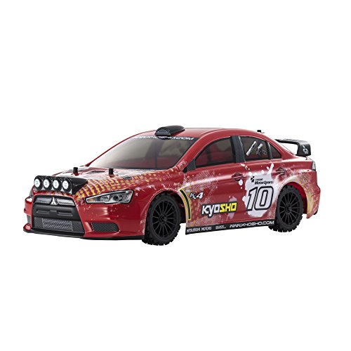 Kyosho FAZER VE-X Lancer Evolution X - T2 Version Vehicle, Red ()