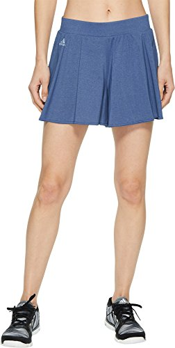 adidas Women's Melbourne Hosenrock Shorts Noble Indigo Medium - Indigo Adidas Shorts