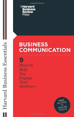 Business Communication (Harvard Business Essentials)