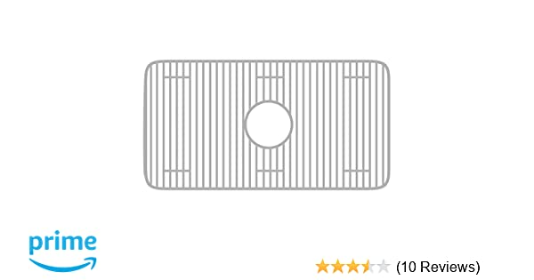 Whitehaus WHREV3018-SS Stainless Steel Sink Grid, Stainless Steel - Single Bowl Sinks - Amazon.com