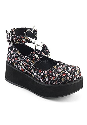 Fabric Sneakers Floral Sprite 02 Femme Low top Demonia T1S0qn