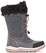 Yellow Shoes Girls Waterproof Snow Winter Boots Frosty