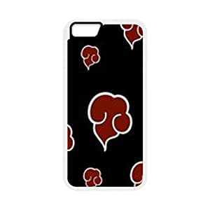 Naruto iPhone 6 Plus 5.5 Inch Cell Phone Case White Jqunj