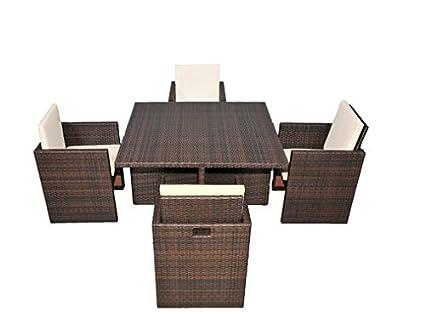BOGA Furniture Boston Dining Cube Set - Amazon.com : BOGA Furniture Boston Dining Cube Set : Garden & Outdoor