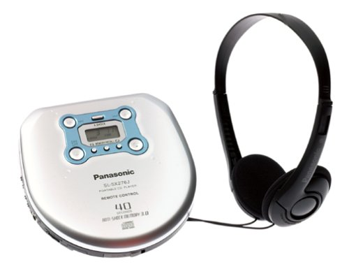 Panasonic SL-SX276J Portable CD Player with Jogger Case (Shockwave Panasonic Cd Player)