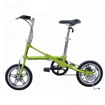 Ultra -ligero de alta calidad Mini Folding Bike bicicleta de 14 pulgadas de la rueda